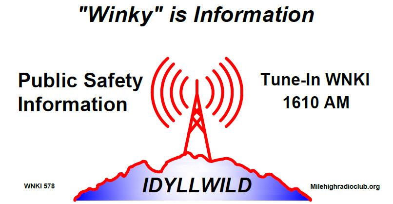 Idyllwild Mile High Radio Club
